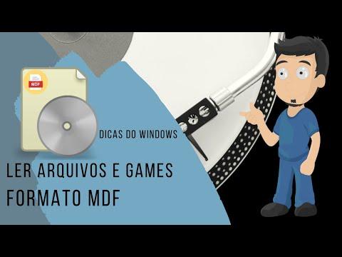 Como emular Jogos e Arquivos  no formato MDF ou ISO