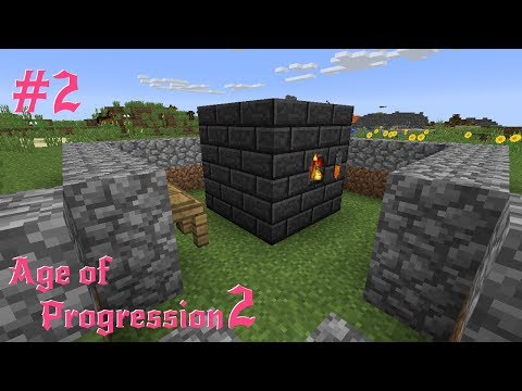 Modded Minecraft : Age of Progression 2 Episode 2 : Seared