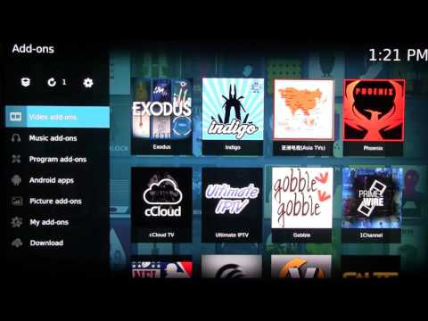 How to integrate Exodus videos with Kodi library or favorites