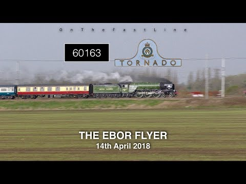 Moments from Failure! 60163 at 90mph with the Ebor Flyer 14-04-18