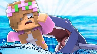 SHARK ATTACK AT THE PRISON! Minecraft Little Kelly