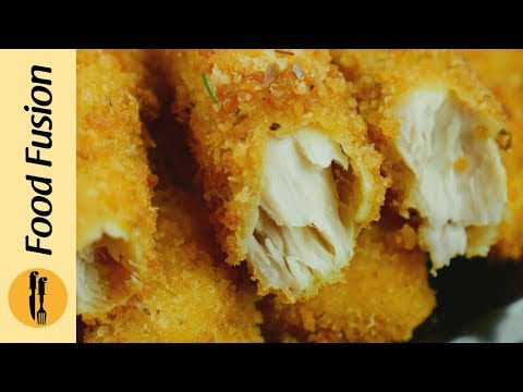 Finger Fish with tzatziki sauce Recipe – make it at home like restaurants - By Food Fusion