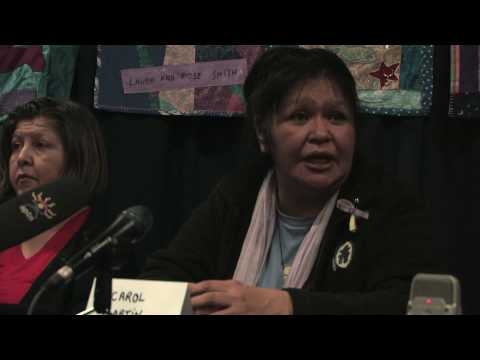 W2 TV: Womens Memorial March Press Confrence