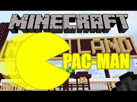 Minecraft Notch Land - PACMAN FUN IN MINECRAFT!