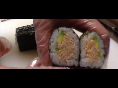Sushi【How to make a Tuna avocado & Spicy tuna roll】tips・recipe・ツナアボカドロール