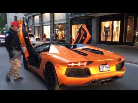 BRUTAL REVVING LAMBO BUSTED BY THE POLICE!