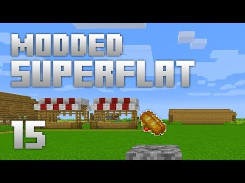 ►Modded Superflat - HOW MUCH??!   Ep. 15   Modded Minecraft Survival◄