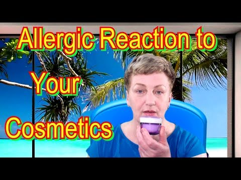 How to Test Makeup for Allergy at Home Video💅💄 - Allergic Reaction to Your Cosmetics