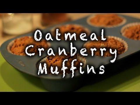 Oatmeal Cranberry Muffins Recipe