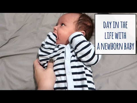 DAY IN THE LIFE WITH A NEWBORN | 24 HOURS