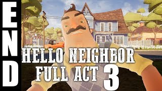 Hello+Neighbor+Gameplay+Walkthrough+Basement+(How+to+get+