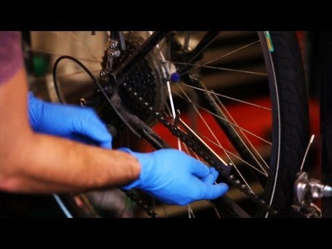 How to Remove an Old Bike Chain | Bicycle Repair