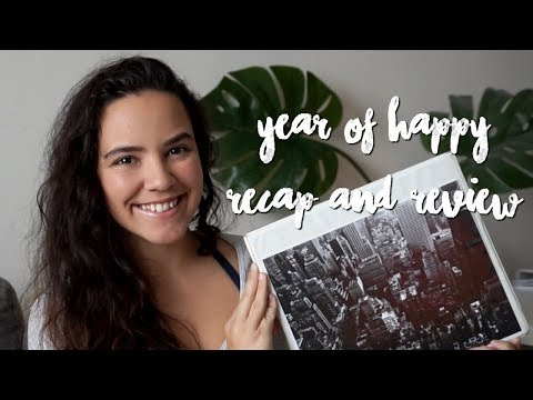 I READ 100 BOOKS THIS YEAR!!  2017 Year of Happy Recap and Review | Laurie Lo