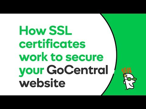 How SSL Certificates Work to Secure Your GoCentral Website | GoDaddy