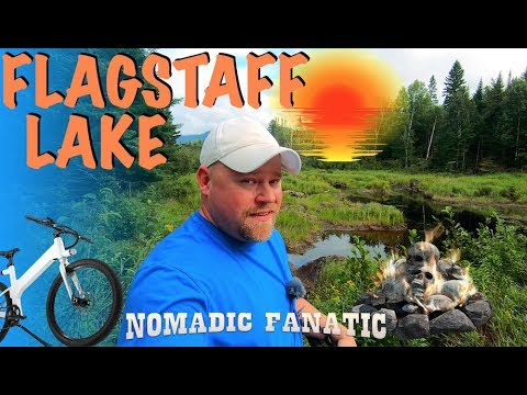 Flagstaff Lake ~ How To Camp In The Rain