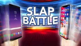 iPhone X vs Note 8 Slap Battle! Who Will Win?!