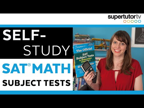 SAT Math Subject Tests: Self Study Tips! Level II and Level I