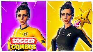 5 New SWEATIEST Soccer Skin (Kickoff) Combos In Fortnite!