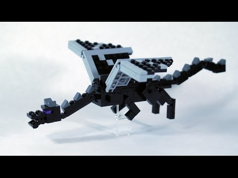 How To Build LEGO Minecraft Ender Dragon (Part 1)