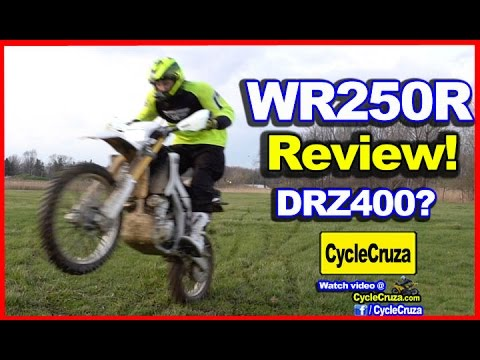 Yamaha WR250R Review - BETTER Than DRZ400! | MotoVlog
