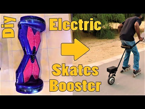 HoverBoard to Roller Skate electric Booster | MakerMan
