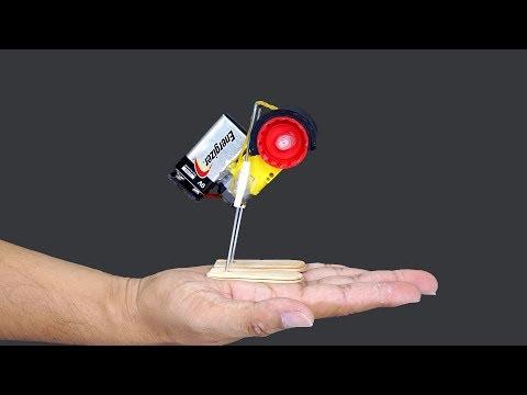 Idea Increíble con Motor de Corriente Continua