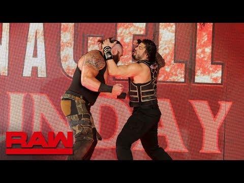 Xxx Mp4 Roman Reigns Brings The Fight To Braun Strowman Raw Sept 10 2018 3gp Sex