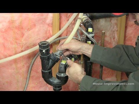 Dishwasher Plumbing Hookup