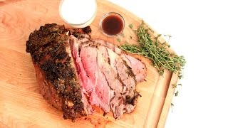 Roasted Prime Rib Recipe - Laura Vitale - Laura in the Kitchen Episode 855