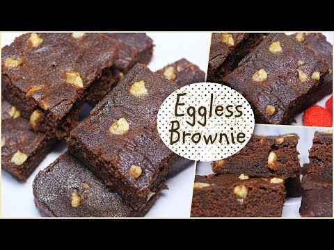 Eggless Brownie In Microwave | Eggless Brownie Recipe | How to make Eggless Chocolate Brownie