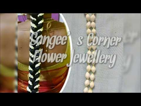 How to make Simple fresh flower Jewellery