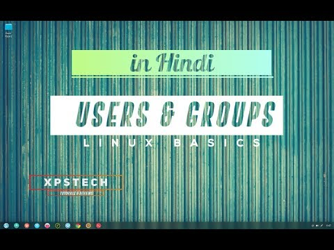 [हिंदी में ] USERS AND GROUP MANAGEMENT IN LINUX