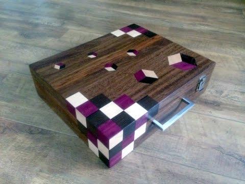Wooden briefcase woodworking tutorial