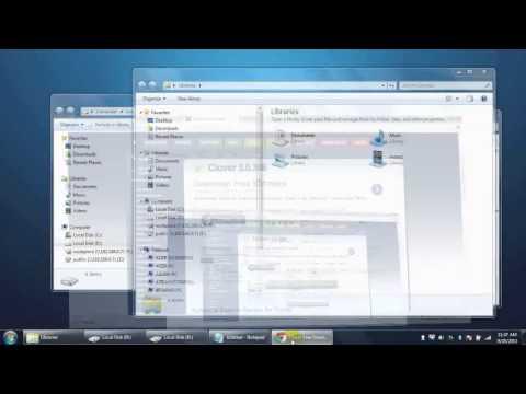 Tutorial - Mengubah Windows Explorer Menjadi Seperti Tab Google Chrome