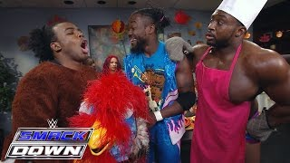 The First Annual New Day Thanksgiving Potluck Dinner: SmackDown, November 26, 2015