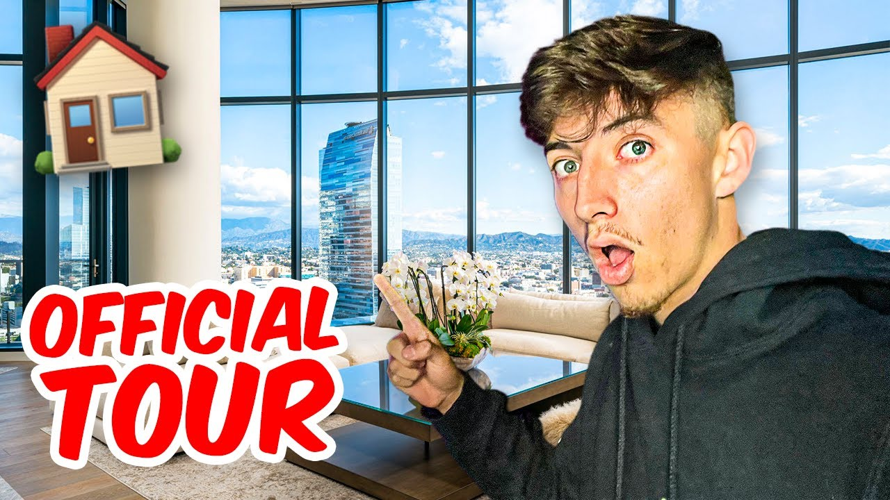 THE OFFICIAL REVEAL OF MY NEW HOUSE!! **full tour**