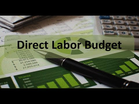 Managerial Accounting: Direct Labor Budget