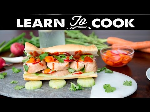Learn To Cook: Sous-Vide Chicken Banh Mi
