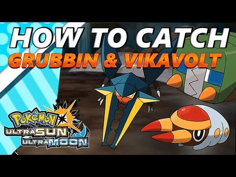 Pokémon Ultra Sun and Moon: How to Catch & Find Grubbin & Vikavolt  - S.O.S. Catching
