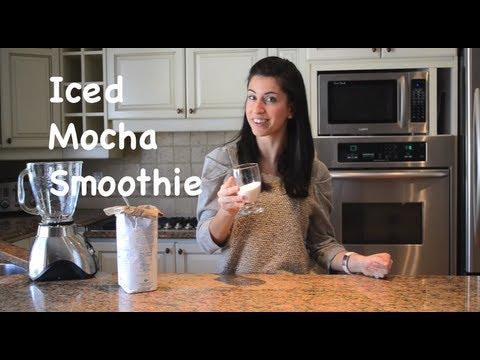 Iced Mocha smoothie
