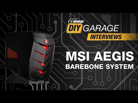 Newegg DIY Garage: MSI Aegis Barebone System