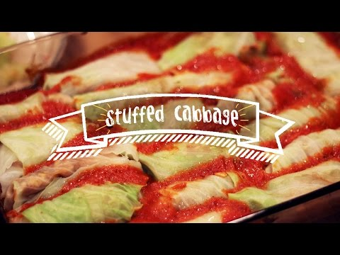 Healthy Recipes | Stuffed Cabbage