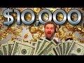10000 HIGH LIMIT Slot Machine Challenge
