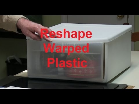 Reshape Warped Plastic in your Oven Tool Tip #32