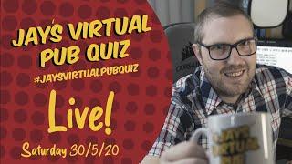 Virtual Pub Quiz, Saturday's here again #withme