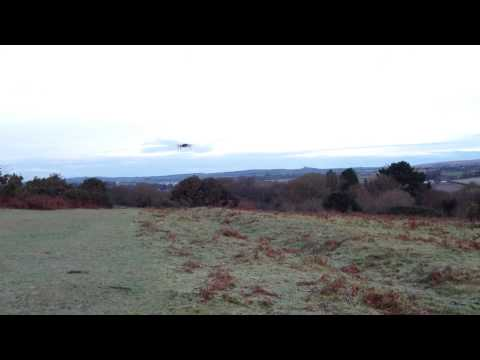 Extreme Fliers Micro Drone Test Flight