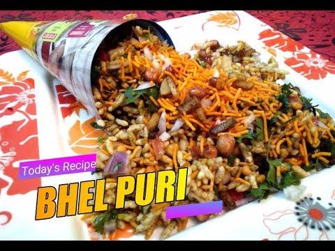 Bhel Puri Recipe In hindi | How to make bhel puri in hindi | Street food of India