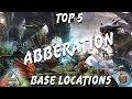 Download  Ark Aberration Top 5 Aesthetic Places to Build(PvP u0026 PvE)!! MP3,3GP,MP4