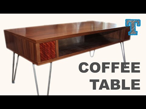Build a Retro Lift Top Coffee Table