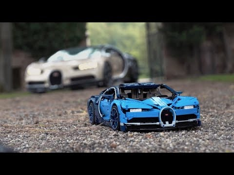 LEGO Bugatti Chiron Designer Video (Set 42083)